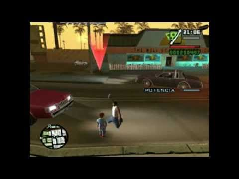 GTA San Andreas CJ vs Chucky (loquendo)