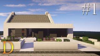 getlinkyoutube.com-MINECRAFT PORADNIK - Jak zbudować: Dom z basenem 35x35 [#1]