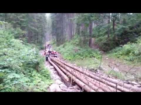 Ursus c 330 zrywka drewna