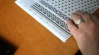 getlinkyoutube.com-Схемы вязания жгутов из бисера.  Набираем бисер без ошибок
