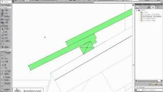 getlinkyoutube.com-ArchiCAD Object: Roof Tile Object