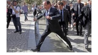 Hollande Le ridicule