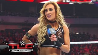 getlinkyoutube.com-Carmella reveals the identity of Nikki Bella's mystery attacker: WWE TLC 2016