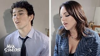 Labrinth feat. Emeli Sandé - Beneath Your Beautiful | Cover by Liz Gillies & Max Schneider
