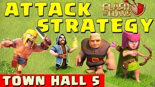 getlinkyoutube.com-Clash of Clans - BEST ATTACK STRATEGY - Townhall Level 5 (CoC TH5 Attack Strategies)