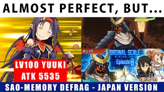 getlinkyoutube.com-Almost Perfect, But... Sword Art Online Ordinal Scale Master+1 JP Version (SAO Memory Defrag)【メモデフ】
