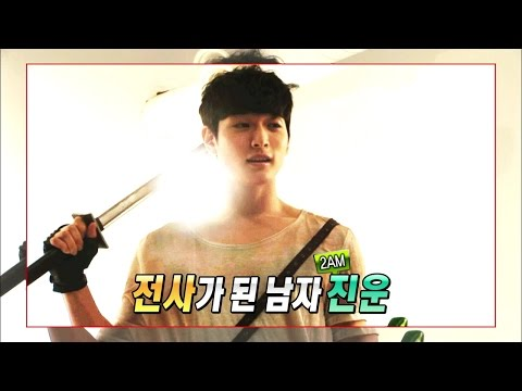 【TVPP】Jin-Woon(2AM) - Challenge! Animation Dubbing (with Han Seung-Yeon), 도전! 애니메이션 더빙 @ Section TV