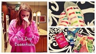 "getlinkyoutube.com-My ""Sick Day"" Essentials!"