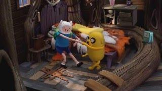 getlinkyoutube.com-Adventure Time - Bad Jubies (Stop-Motion Intro)