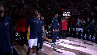 Utah Jazz 2017-2018 Home Opener Intro Video and Player Intros