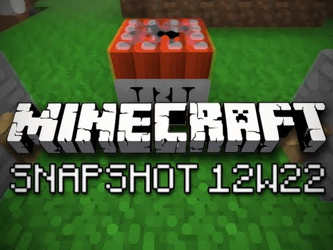 Minecraft: In Depth Trip Wires (Snapshot 12w22 Part 2)