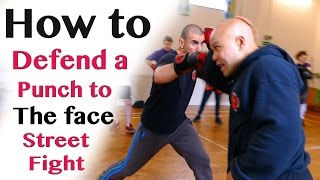 getlinkyoutube.com-How to defend a punch to the face