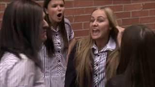 getlinkyoutube.com-Ja'mie: Private School Girl - Girl Fight