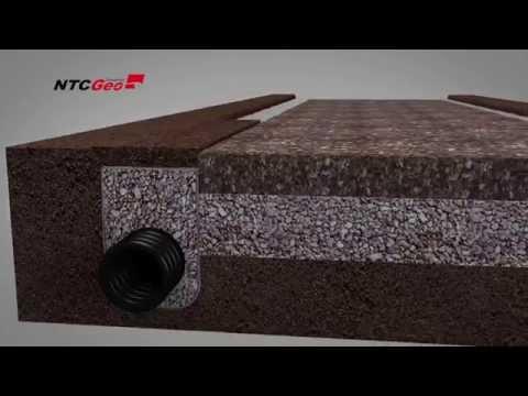 Geotêxtil - Filtração e Drenagem