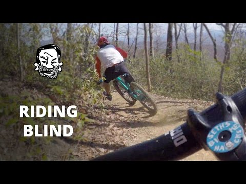 Phil rides a MTB trail blind and fast - RWS EP14