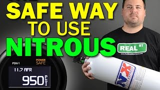 How to use Nitrous without BLOWING up your engine Innovate PSN-1 PSN1 3893 - Real Street Performance