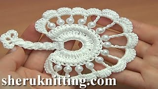 getlinkyoutube.com-How to Crochet Round Leaf Tutorial 36