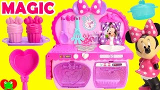 getlinkyoutube.com-Cooking With Minnie Mouse's Magical Kitchen Surprises