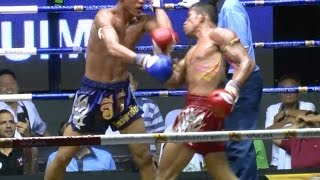 Muay Thai Fight - Pornsanae vs E.T. - Rajadamnern Stadium Bangkok, 9th November 2014