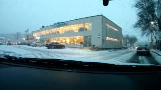 getlinkyoutube.com-Dash Cam - 2016 Subaru WRX Driving In Snow