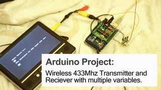 getlinkyoutube.com-Arduino Project: Cheap Wireless 433Mhz Transmitter and Receivers