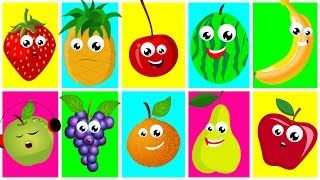 getlinkyoutube.com-Ten In The Bed Fruits   Nursery Rhymes For Kids And Childrens   Learn Fruits   Songs For Toddler