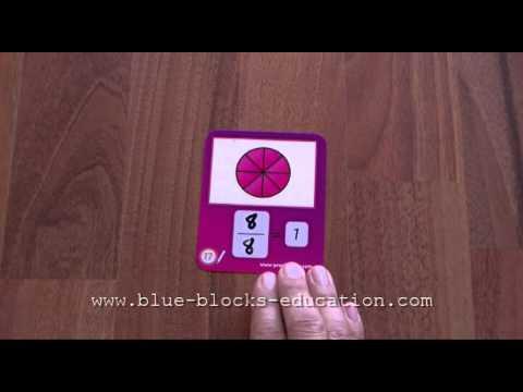 Fraction Flash card games
