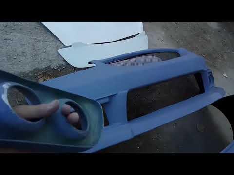 Видеообзор - Большой комплект Axis + другие детали на Honda fit GD....