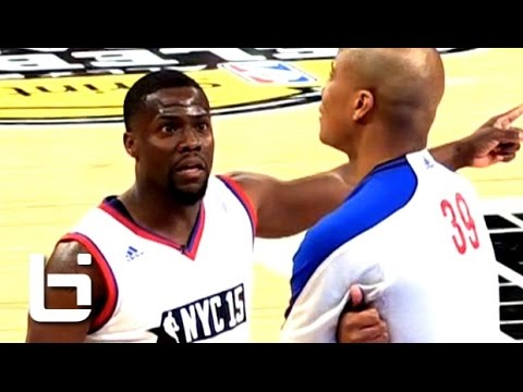 Kevin Hart FUNNY Basketball Moments On His Way to 4th Celebrity Game MVP in Kevin Hart Fashion