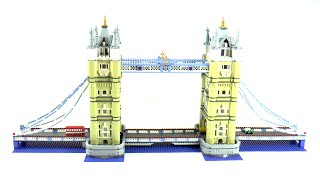 getlinkyoutube.com-Lego Exclusives 10214 Tower Bridge Speed Build And Review