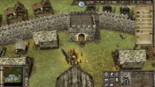 getlinkyoutube.com-Stronghold 3 Multiplayer - 2vs2 Deathmatch