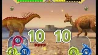 getlinkyoutube.com-Dinosaur King Arcade Game - Combat With Water Dinosaurs!