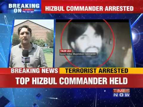 Top Hizbul commander arrested