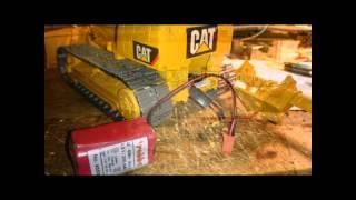getlinkyoutube.com-Videobaubericht Bruder CAT D5 Kettendozer