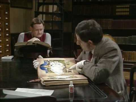 Mr Bean - Library