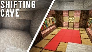 getlinkyoutube.com-Minecraft: The Transforming Cave [ULTIMATE Hidden Base]