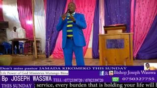 Don't miss  Pastor JAMADA KIKOMEKO This Sunday at life power of God Ministries Mutungo Biina