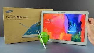 getlinkyoutube.com-Samsung Galaxy Note Pro 12.2: Unboxing & Overview