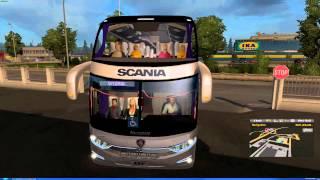 getlinkyoutube.com-Euro Truck Simulator 2 Thailand   ModBus V4  MAP Scandinavia