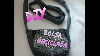 getlinkyoutube.com-Diy, Bolsa de mezclilla reciclada