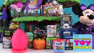 getlinkyoutube.com-Blind Bag Treehouse | Shopkins Paw Patrol Play-Doh Surprise Eggs | PSToyReviews