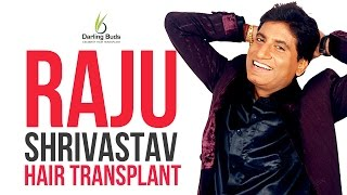 getlinkyoutube.com-Raju Shrivastava hair transplant at Darling Buds @Chandigarh,India