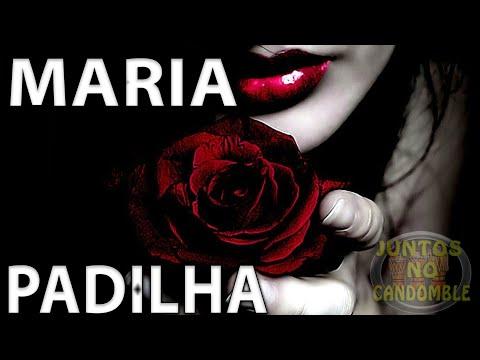 Ponto Maria Padilha - Pomba Gira -  Tapete de rosas