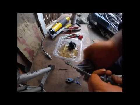 Как поменять сальник главный цилиндре сцепления chrysler dodge2