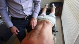 getlinkyoutube.com-Dr. Ian - Breathing restriction and acute thoracic pain - Fixed by Gonstead Chiropractic
