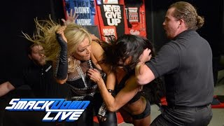 getlinkyoutube.com-Nikki Bella engages Natalya in a merchandise stand brawl: SmackDown LIVE, Jan. 17, 2017