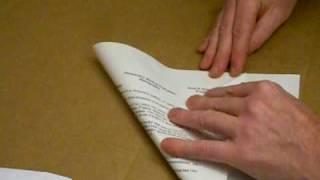 getlinkyoutube.com-Folding a Surfer Paper Airplane