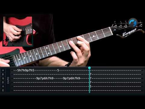 Exerc�cio de Arpejo - Aula T�cnica - aula de guitarra
