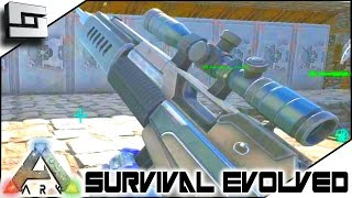 getlinkyoutube.com-ARK: Survival Evolved - MASTERCRAFT SNIPER RIFLE! S3E65 ( Gameplay )
