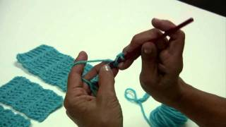 getlinkyoutube.com-Learn to Crochet: 5 Basic Crochet Stitches by Red Heart with Kathleen Sams